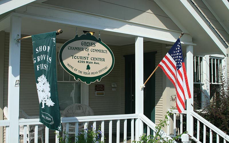 Groves Chamber of Commerce Office