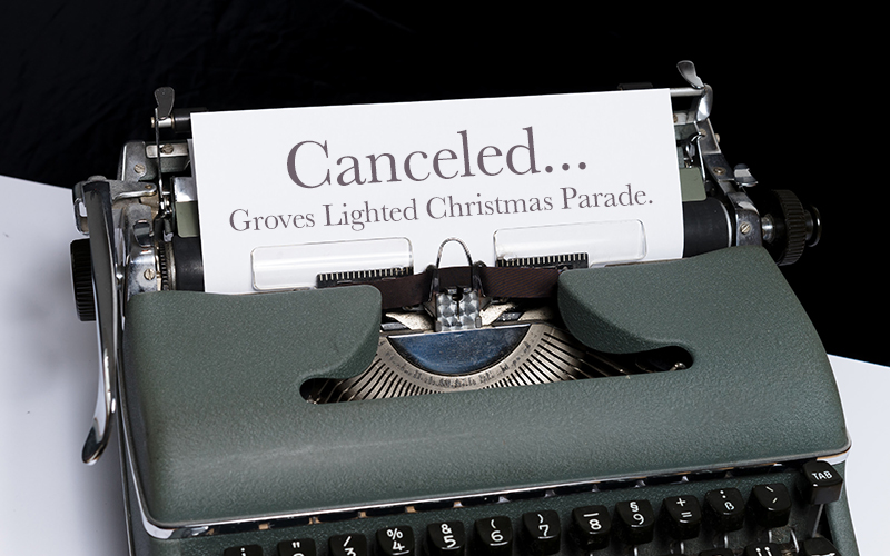 Canceled: Groves Lighted Christmas Parade